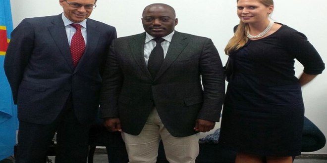 "Kenneth ROTH, ""Joseph KABILA"" et Ida SAWYER"