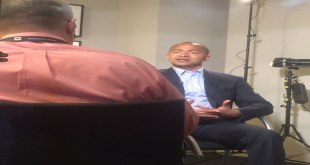 Moise Katumbi - during an interview.