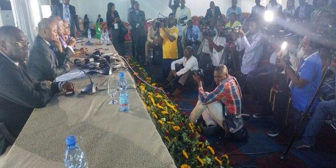 """Conference de presse du coordinateur du Dialogue de """"Joseph KABILA"""""""