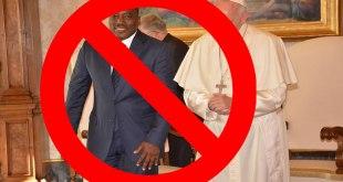 """""""Joseph KABILA"""" et le Pape, Vatican, Rome"""