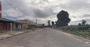 Une rue de Kananga