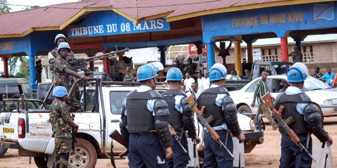 Soldats de la MONUSCO, Nord-Kivu.