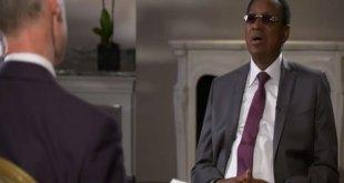 Bruno TSHIBALA, premier minister de RDC, lors d'une entretien a la BBC HardTalk.