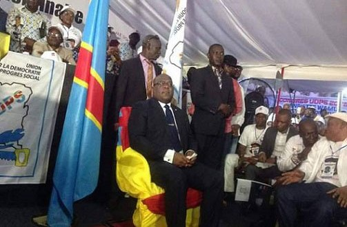 Congrès de l'UDPS/Limete, Felix Antoine Tshilombo Tshisekedi dit Fatshi sur son trône