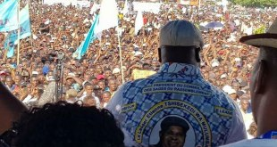Meeting de Félix Tshisekedi à Kinshasa