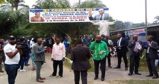 Ouverture du Congrès du MLC au Centre Nganda