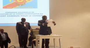 En créant le FCC, «Kabila» a été inspiré par les pères de l'indépendance de la RDC