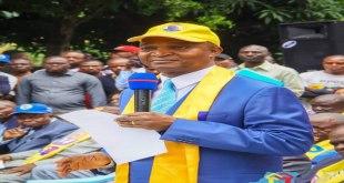 Emmanuel Ramazani Shadary, dauphin de Joseph Kabila, pour la présidentielle 2018 en RDC.