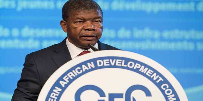 João Lourenço, 38ème sommet de la SADC, Windhoek - Namibia, 17 août 2018.