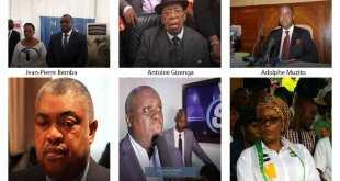 Candidats exclus de la liste provisoire de la présidentielle 2018 en RDC.