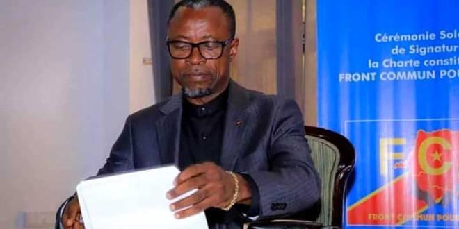 Atou Matubuana Nkuluki, gouverneur intérimaire du Kongo Central.