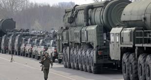Des véhicules militaires en préparation pour Vostok 2018, en Sibérie.