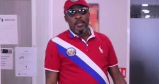 Tutu KALUGJI, lors d'un entretien sur Congo Mokili. Photo capture d'écran, par KongoTimes!