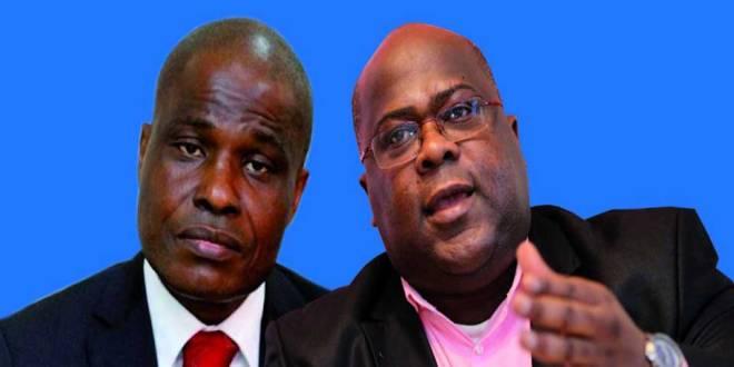 Martin FAYULU dit Mafa et Felix-Antoine TSHISEKEDI