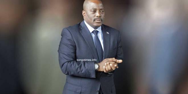 Joseph KABILA, president sortant de RDC.
