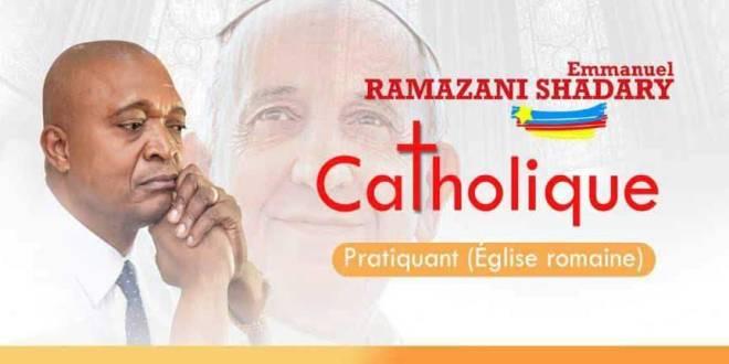 Ramazani SHADARY, affiche de campagne.
