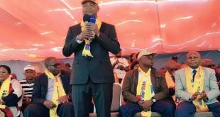 "Emmanuel RAMAZANI SHADARY, candidat du FCC de ""Kabila"" a la présidentielle 2018."