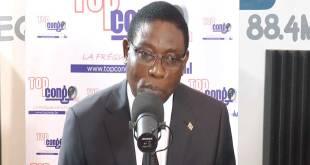 Henri MOVA SAKANYI, vice-Premier ministre en charge de l'Intérieur et de la sécurité.