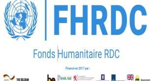Le logo du Fonds Humanitaire - RDC.