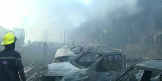 RDC : «Kabila» fait incendier un entrepôt de la CENI pour reporter les élections