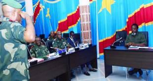 JOKAKA préside la réunion du haut commandement militaire