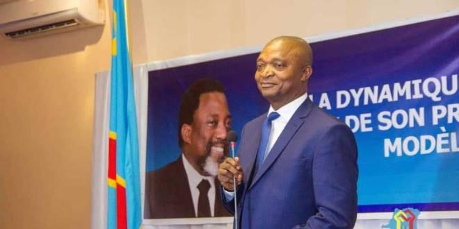 Emmanuel RAMAZANI SHADARY, candidat du FCC de Joseph KABILA, a la présidentielle 2018.