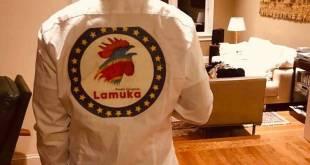 Chemise avec le logo de la coalition Lamuka