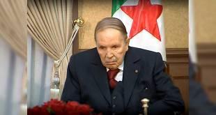 Bouteflika, ancien président de l'Algérie.