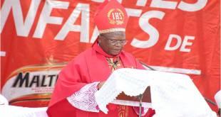 Mgr fridolin Ambongo, Archevêque de Kinshasa.
