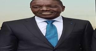 André-Alain Atundu Liongo, porte-parole du regroupement appelé Majorité Présidentielle (MP), de l'ancien président Congolais Joseph Kabila.