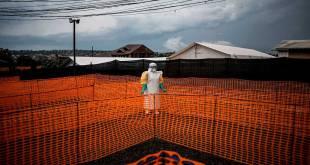 Centre de traitement Ebola a Bunia, Est de la RDC.