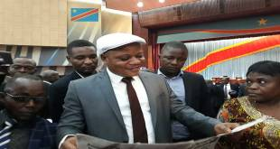 Jean-Marc Kabund-A-Kabund, president ai de l'UDPS/Tshisekedi et Vice-president de l'Assemblee nationale de la RDC.
