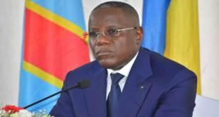 Aubin Minaku Ndjalandjoko, ancien speaker de l'Assemblée nationale de la RDC.