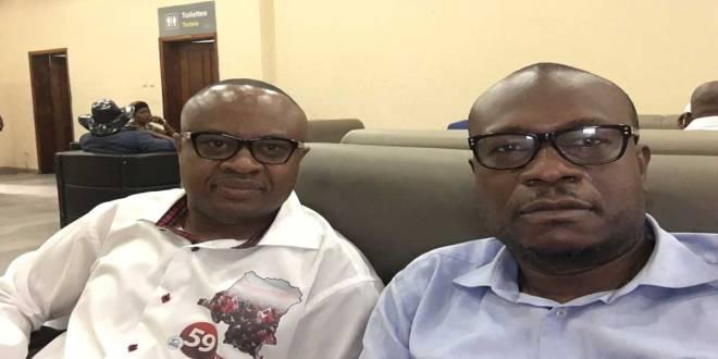 Elections 2018 - Claudel Lubaya et Delly Sesanga Hipung à Kananga pour le lancement de leur campagne.