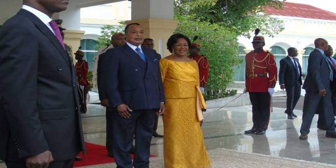 Le couple Sassou NGUESSO