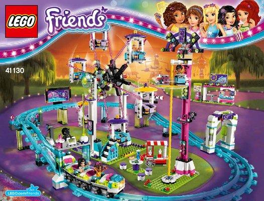 Notice Instructions De Montage LEGO Friends 41130