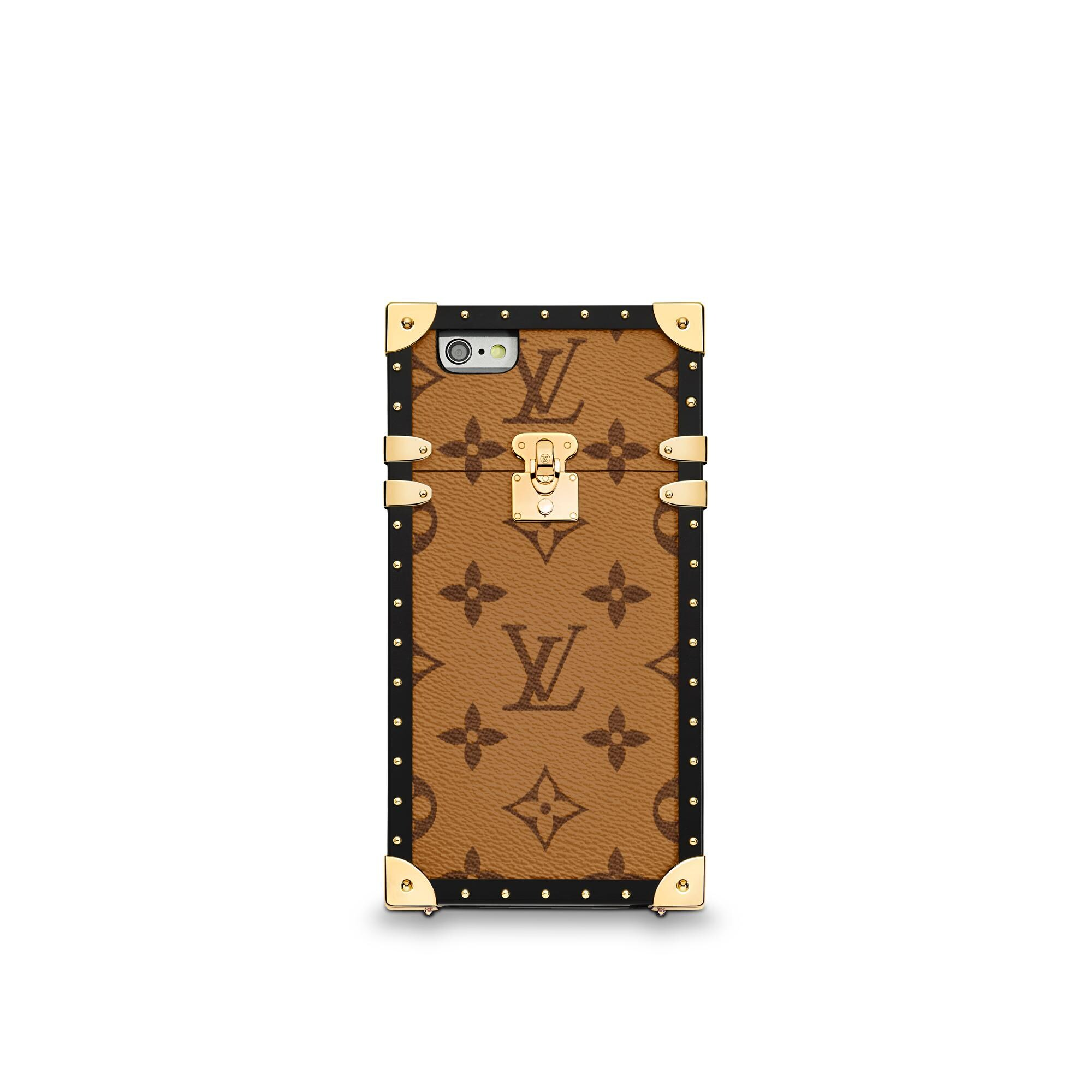 Eye-Trunk pour iPhone 7 Monogram Reverse Canvas Femme Petite Maroquinerie  | LOUIS VUITTON