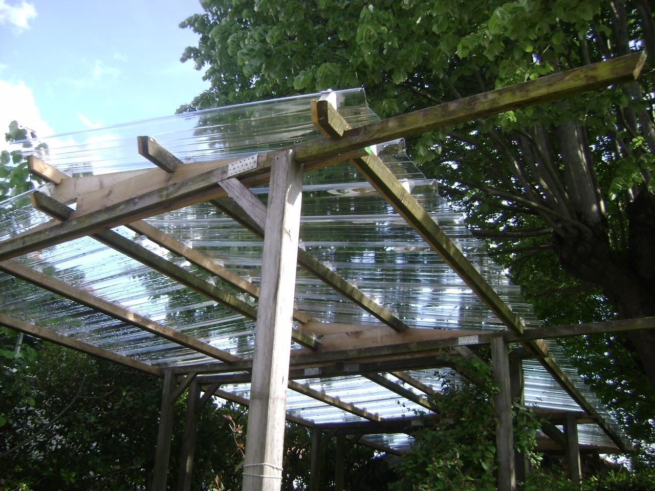 Tole En Polycarbonate Transparente Pour Serre De Jardin Veranda