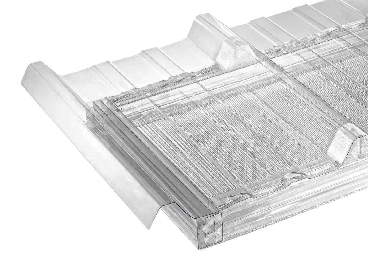 Plaque En Polycarbonate Translucide Pour Isolation Toiture Sandwich