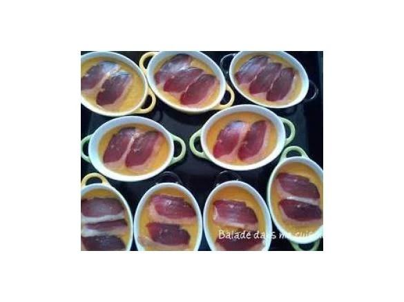 cocotte de butternut viande des grisons et magrets de canard