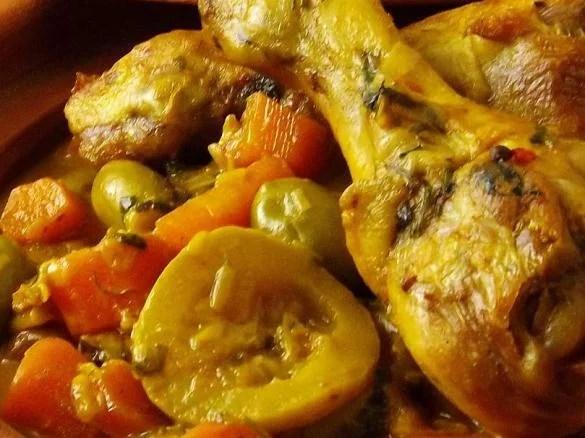 tajine de poulet simple