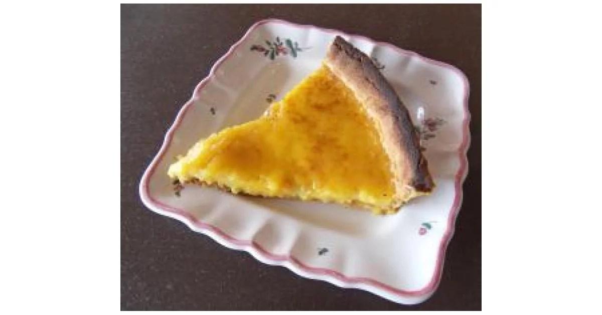 tarte a l orange de ma maman