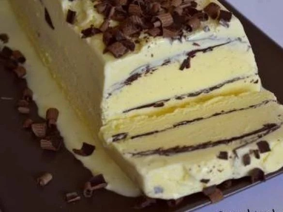 glace vanille chocolat facon viennetta