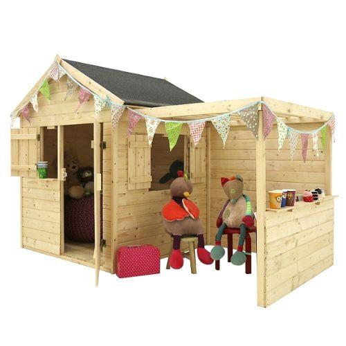 achat maisonnette en bois enfant pas