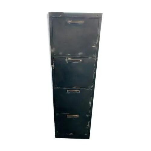 achat meuble tiroir industriel pas cher