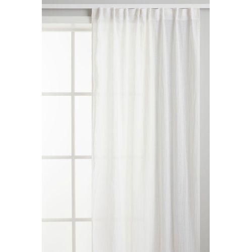 achat rideau lin blanc pas cher neuf