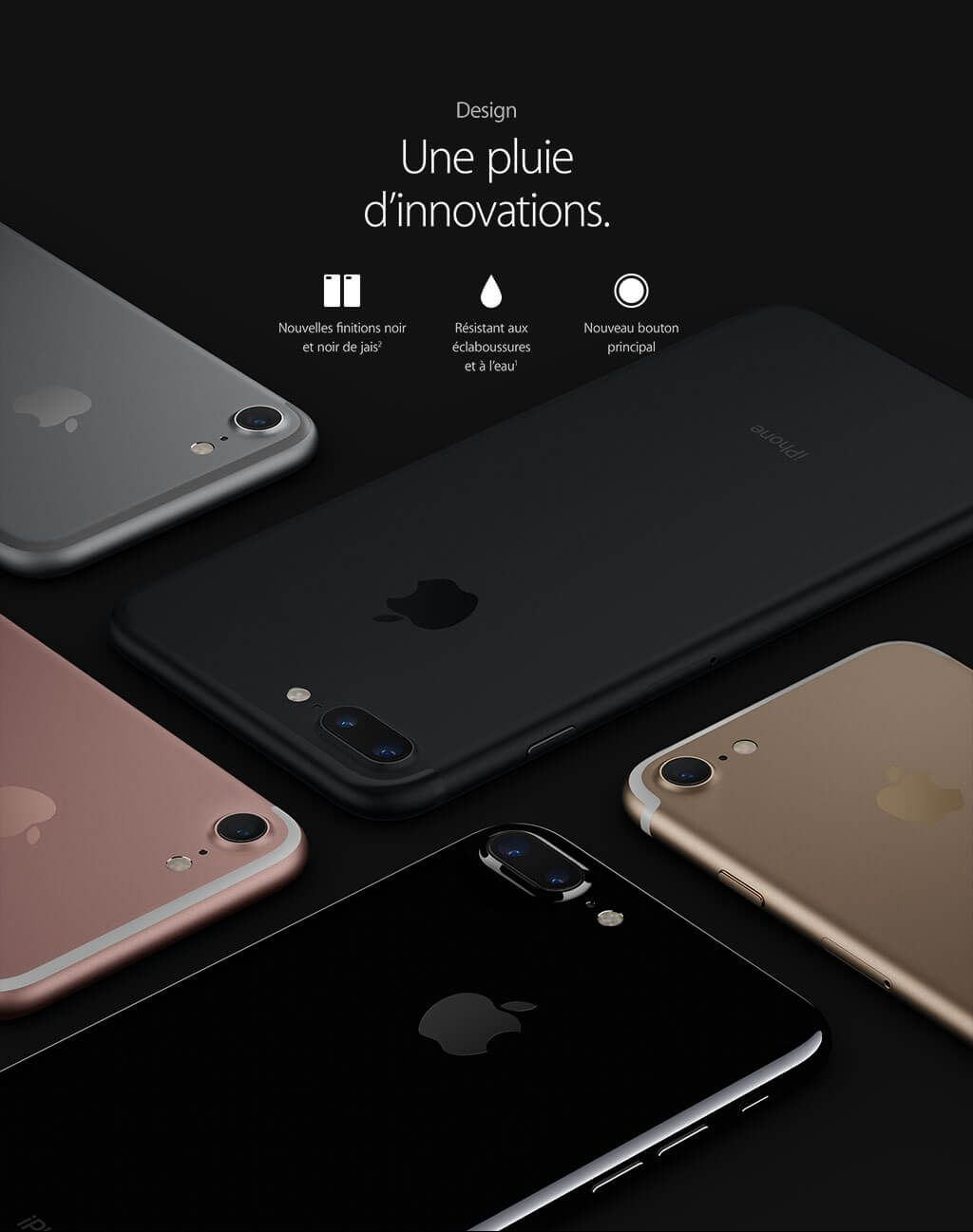 apple iphone 7 32 go rouge telephones