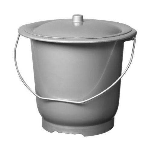 Seau Toilette Hygienique Pot De Chambre Avec Couvercle Adulte Rakuten