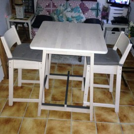 achat table haute bar ikea pas cher