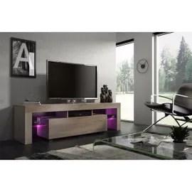 achat meuble tv suspendu 160 cm pas